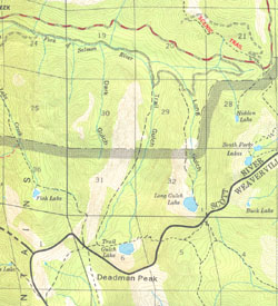 Consider The Maps Of The Trinity Alps Wilderness Published In 1984 And Again In 2004 By The United States Department Of Agriculture Forest Service